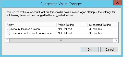 GPO - Account lockout duration