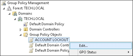 GPO - Account lockout