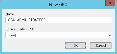 GPO - Add local administrators