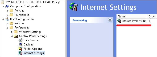 GPO - Automatic Proxy configuration