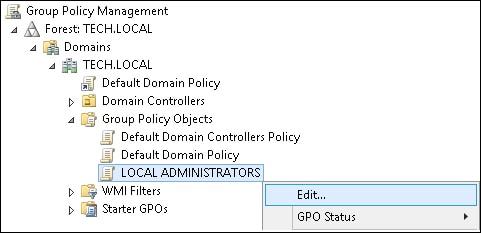 GPO - Configure local administrators