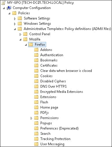 GPO - Firefox configuration