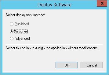 GPO - MSI deployment method