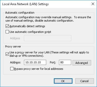 GPO - Prevent proxy configuration