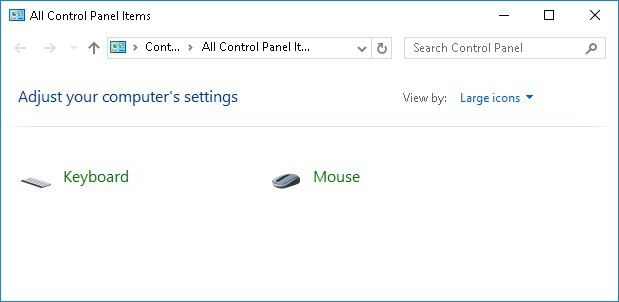 Group Policy - Limit Control Panel options