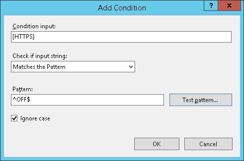 IIS - HTTP to HTTPS redirection