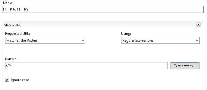 IIS - Redirect HTTP to HTPS