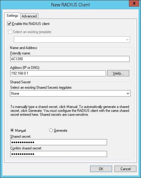AC1200 Active directory authentication