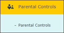 AC1200 - Parental controls menu