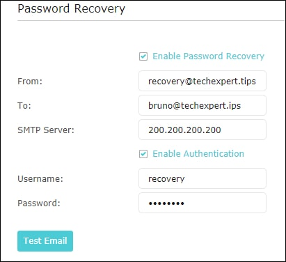 Archer AC1200 Password recovery