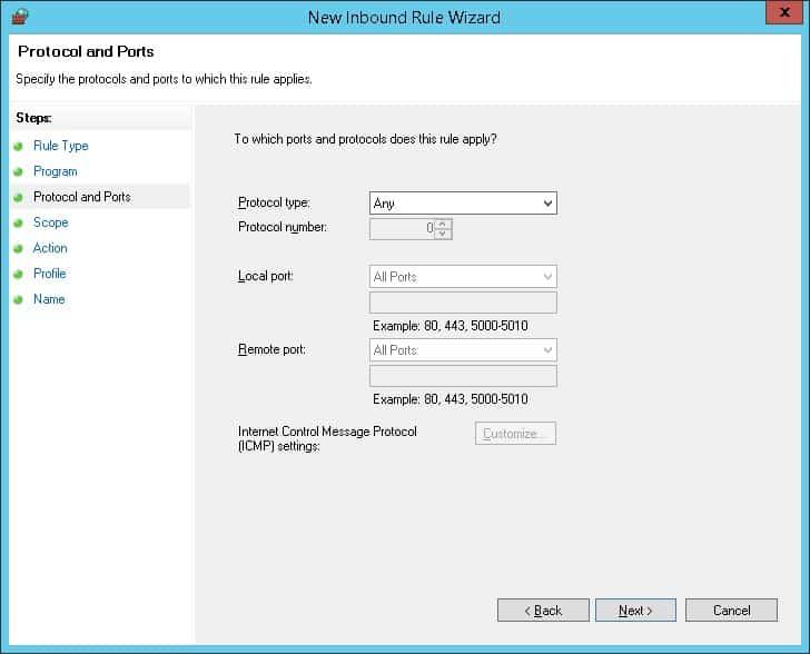 GPO - Firewall Whitelist IP address 03