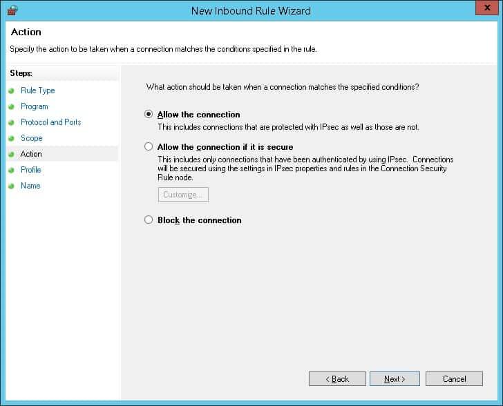 GPO - Firewall Whitelist IP address 05