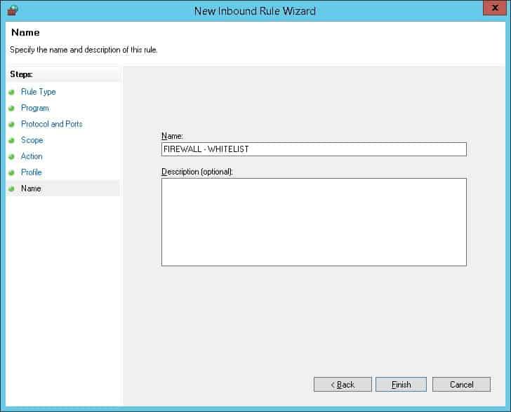 GPO - Firewall Whitelist IP address 07