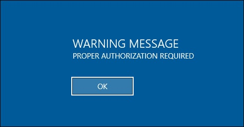 GPO - Text message at Login