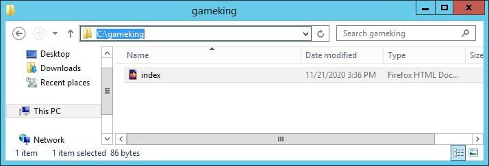IIS - Virtualhost directory