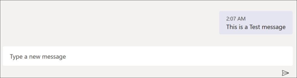 Microsoft Teams - Delete sent message
