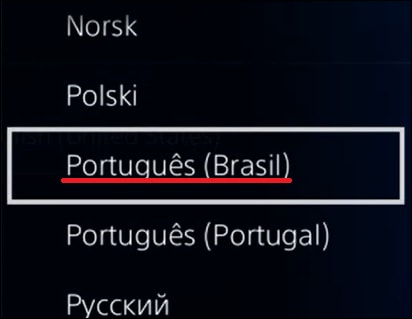Playstation 4 - Change the Language