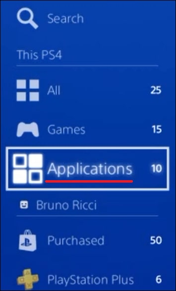 Playstation - Applications