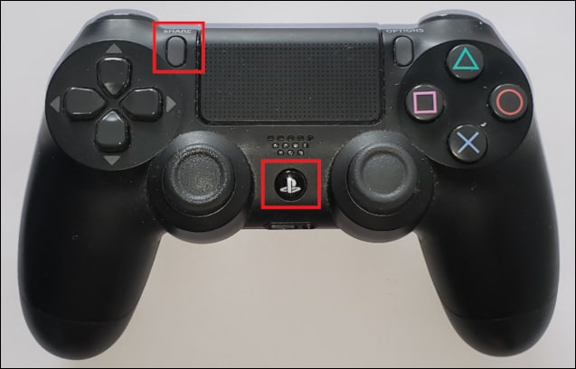 Playstation controller - Pairing
