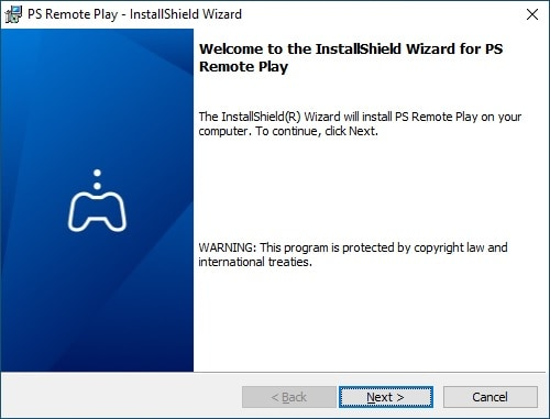 Remote Play installation on Windows
