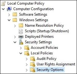 Windows 10 - Require CTRL-ALT-DEL