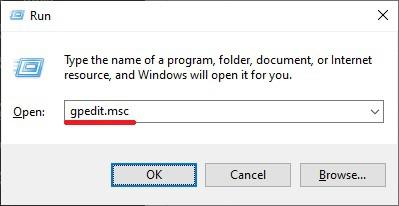 Windows 10 - local group policy editor