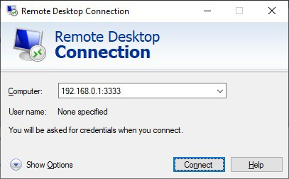 Windows - Change Remote desktop TCP port