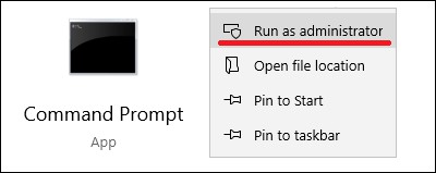 Windows - Elevated command prompt