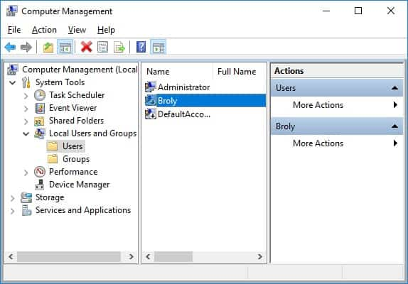 Windows - Rename the Guest account