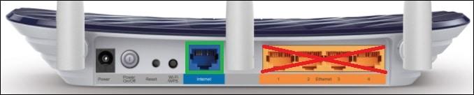 Archer C20 AC750 - internet connection