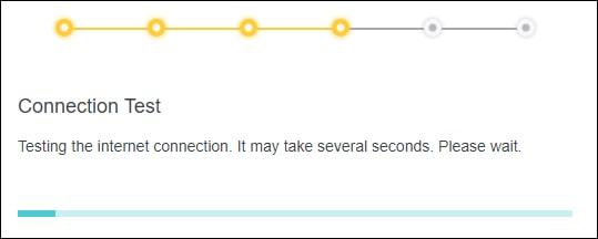 Archer X10 AX1500 - Initial configuration - Internet connection test