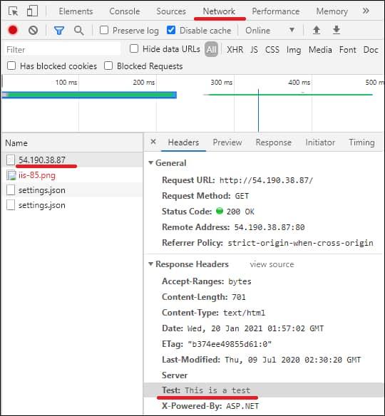 IIS - Add a custom header