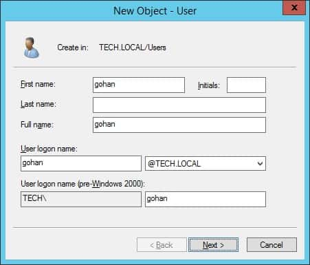 IIS Authentication - Create a user account