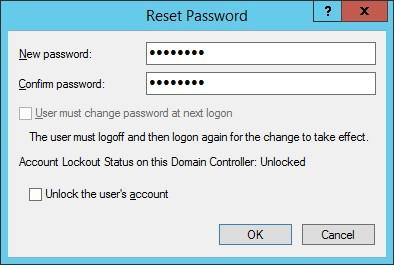 IIS - Digest authentication reset password