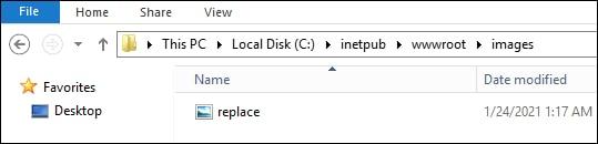 IIS Hotlinking - Image replacement