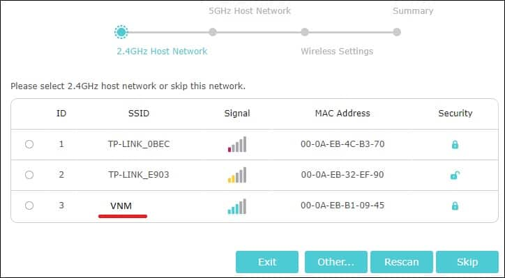 TP-LINK RE650 - Repeater Configuration