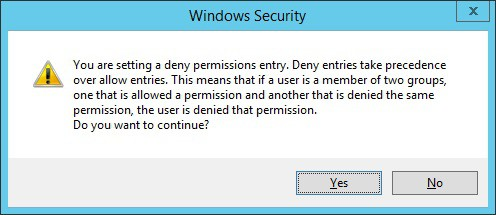 GPO - Deny apply permission