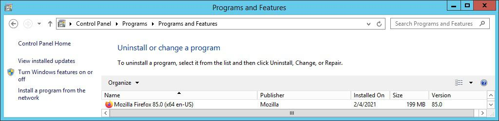GPO - Install Mozilla Firefox MSI package