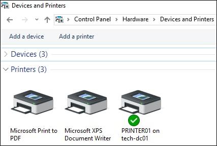 GPO - install printer