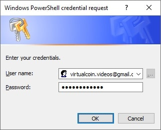 Powershell - Email credentials