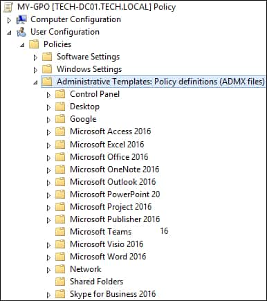 GPO - Microsoft Office