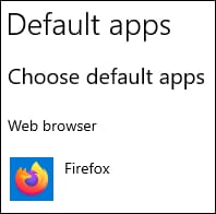 GPO - Default browser Mozilla Firefox