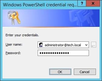 Powershell - Shutdown credential