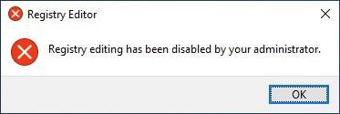GPO - Disable regedit