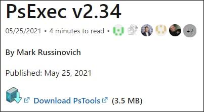 Psexec download