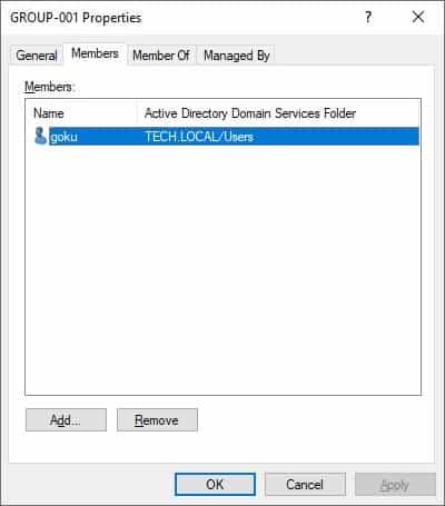 Active Directory - Delegate group maangement
