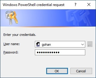 Powershell - SSH Credential